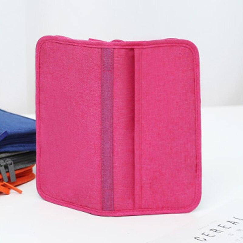 Travel Passport Cover Multifunction Wallet Document Organizer Cover Men Women Business ID Card Holder Case Wrist Strap PC0047 (13)