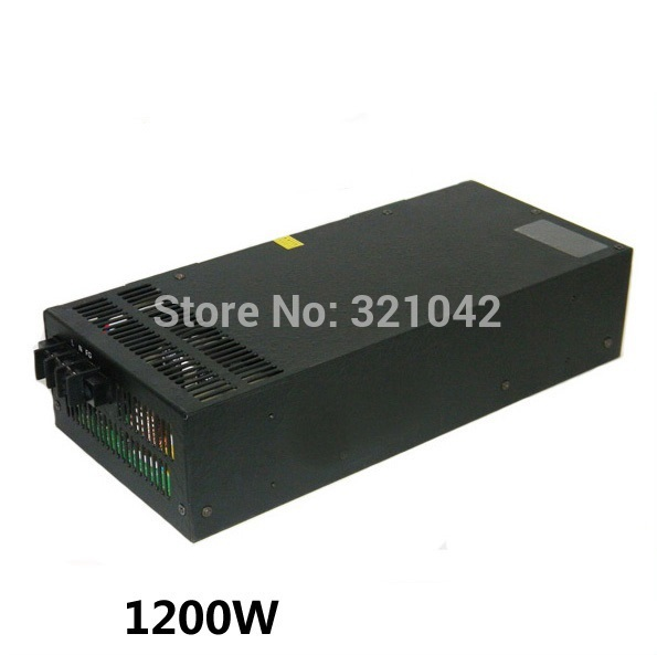 1200W 12V 100A Switching power supply for LED Strip light AC to DC power suply input 110v 220v 1200w ac to dc power supply 1200w 12v 100a adjustable 220v input single output switching power supply for led strip light ac to dc