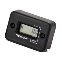 Digital Waterproof Tachometer for 2 or 4 Stroke Gasoline Motor Free Shipping
