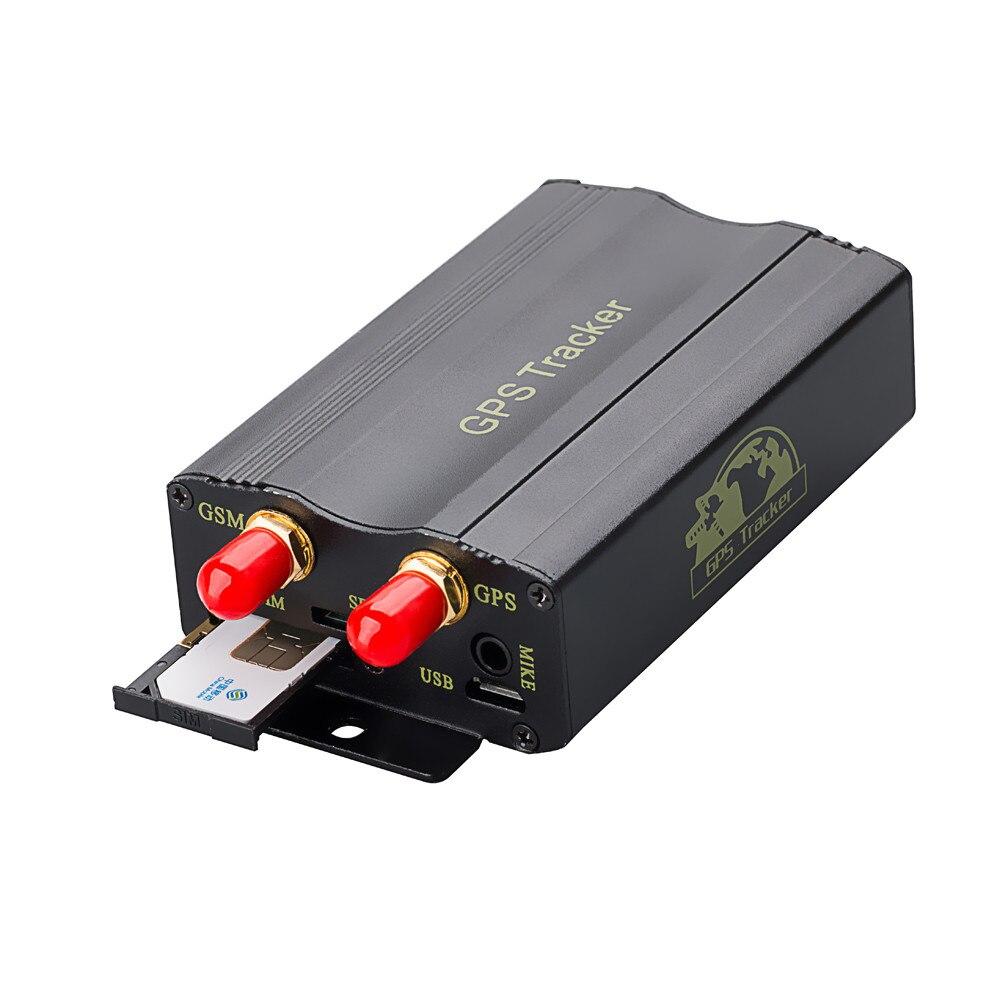 Franchise Realtime TK103A Vehicle Car GPS SMS GPRS Tracker Real Time Tracking Device Syatem Locator Worldwide Car Navigator #306