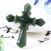 Boutique jewellery crater natural a cross pendant/1