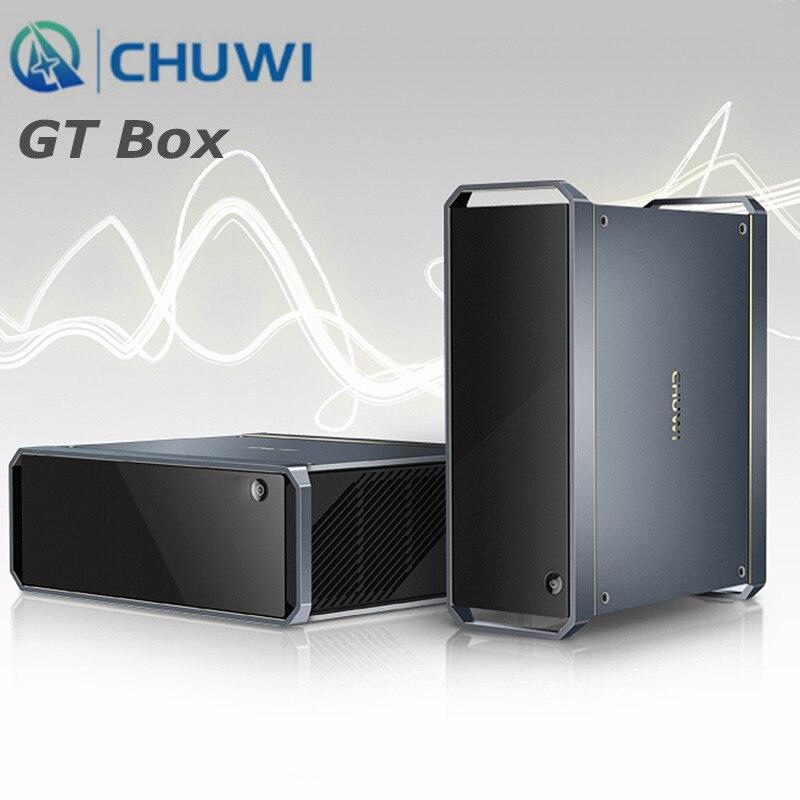 CHUWI GT Box Windows 10 Mini PC Intel I3 5005U Intel HD Graphics 5500 8GB RAM 25GB SSD 2.4GHz + 5GHz WiFi 1000Mbps BT4.2
