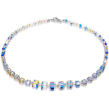 2019 Europe Fashion Crystal Stone Necklace Jewelry Accessories Bead Long Shine Chain Necklaces & Pendants For Women Bijoux