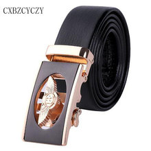 Style Luxury Brand Belt Men's Belt black designer Belts Men High Quality leather Belts for Men Automatic Buckle ceinture femme