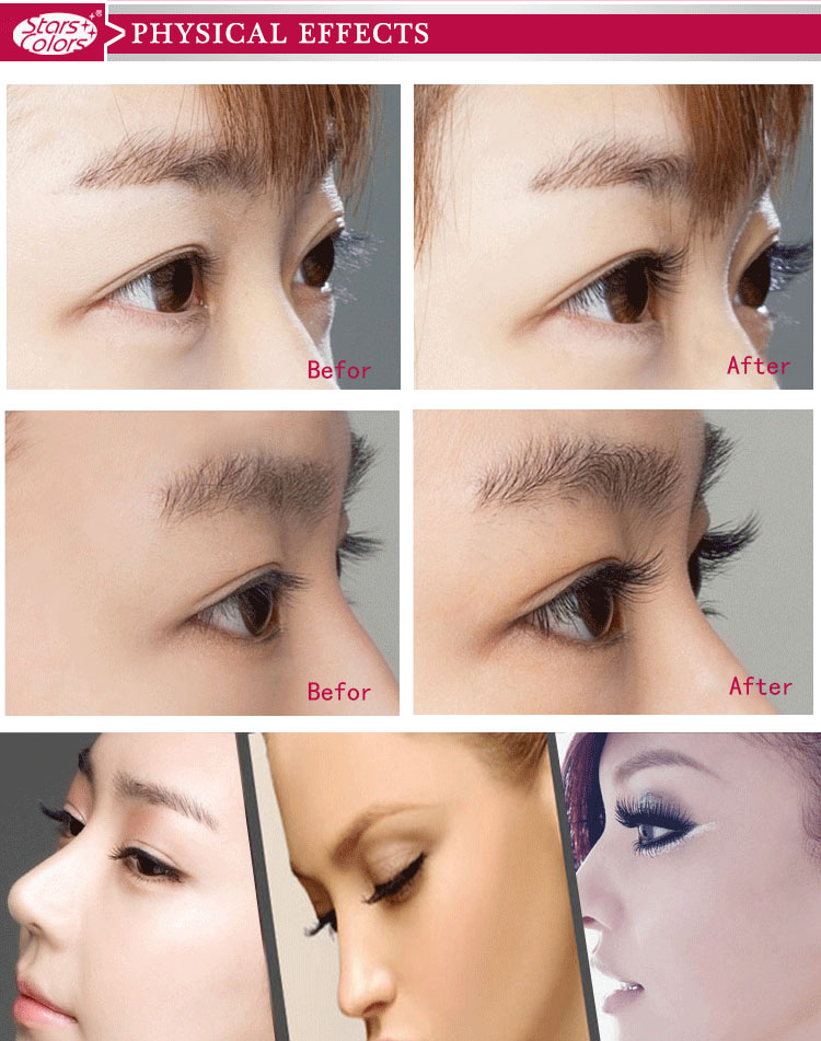 Oem Different Length False Lashes Cheap Individual Fake Eyelashes In