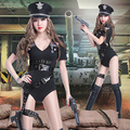 Новый женский сексуальный костюм боди военной униформы искушение костюмы ds привести танцовщицу одежды певица производительности шоу party bar