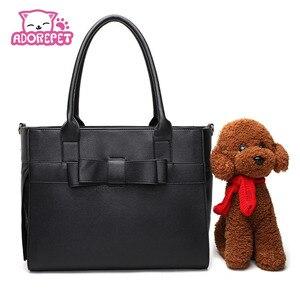 Роскошная сумка-переноска для домашних животных, кошек, маленьких собак, переносная сумка из искусственной кожи для щенков, сумка-тоут, сумк...