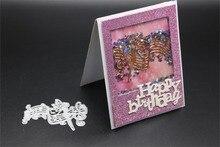 New Lovely Dancing Girl Metal Cutting Dies Stencils for DIY Scrapbooking album Decorative Embossing DIY Paper Cards making craft