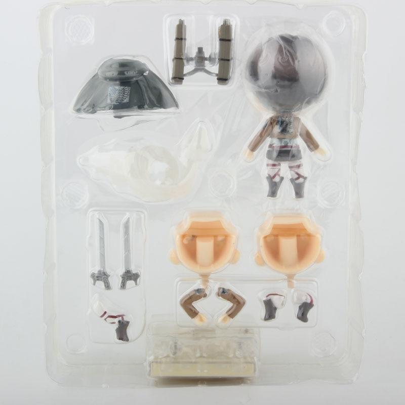 Nendoroid Levi inside the box back