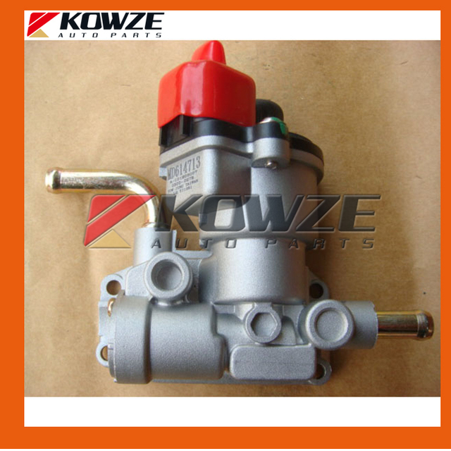US $48 0 |Fast Idle Air Valve Air Idle Speed Control Servo Stepper Motor  IACV for Mitsubishi L200 L300 4G63 4G64 Made In Taiwan MD614713-in