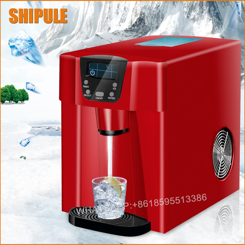 round shape ice making machine or household ice maker commercial automatic ice maker household electric bullet round ice making machine 15kg 24h family small bar coffee teamilk shop