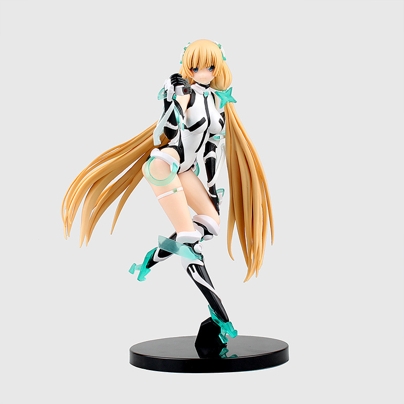 Anime Expelled from Paradise Angela Balzac 1/8 Scale Sexy Printed Figure PVC Action Figure Collectible Model Toy 21cm KT3164 new hot 22cm expelled from paradise angela balzac action figure toys collection christmas gift doll