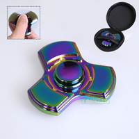 Colorful Fidget Spinner Finger Hand Spinner Tri Spinner EDC ADHD Antistress Focus Toys Hand Spinner For
