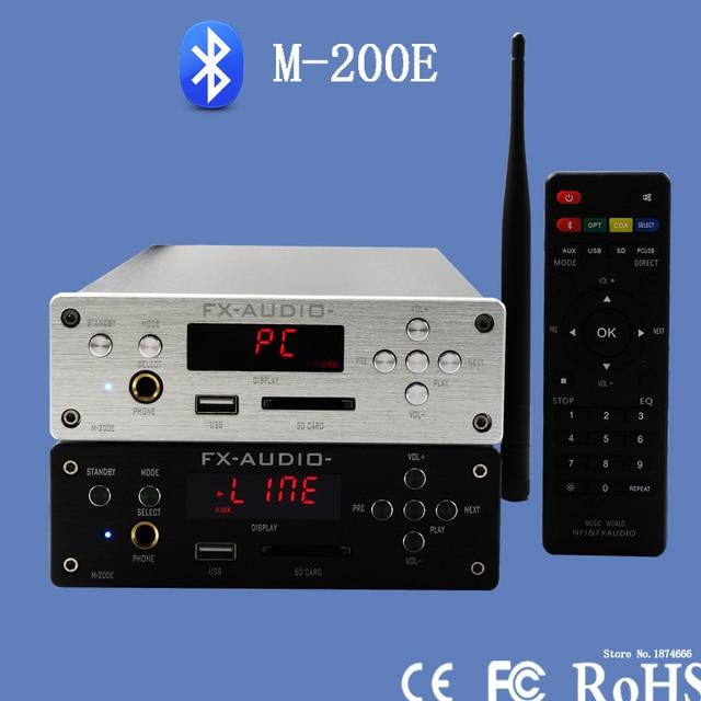Fx-audio M-200E жк-минисистемы высокое - усилитель верность поддержка у диска / SD карта без потерь / Bluetooth 4.0 / 120 Вт * 2 - 220 В - серебро
