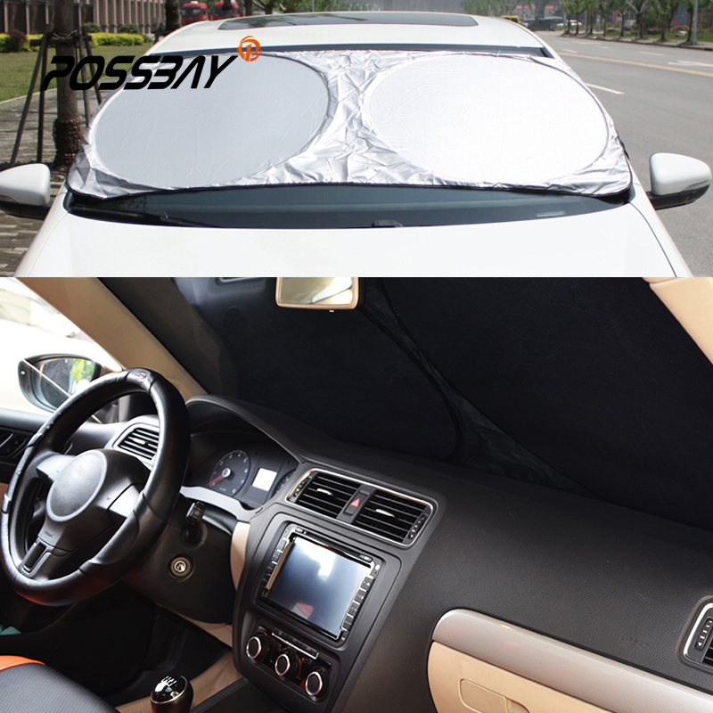 car curtain front rear window film windshield visor cover protect rear reflective reflector car. Black Bedroom Furniture Sets. Home Design Ideas