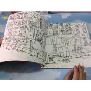 Image 2 - 84 Trang Hồn Tôi Du Lịch Sách Tô Màu Mật Phong Cách Tô Màu Giảm Căng Thẳng Giết Thời Gian Đồ Bộ Tranh Vẽ Sách