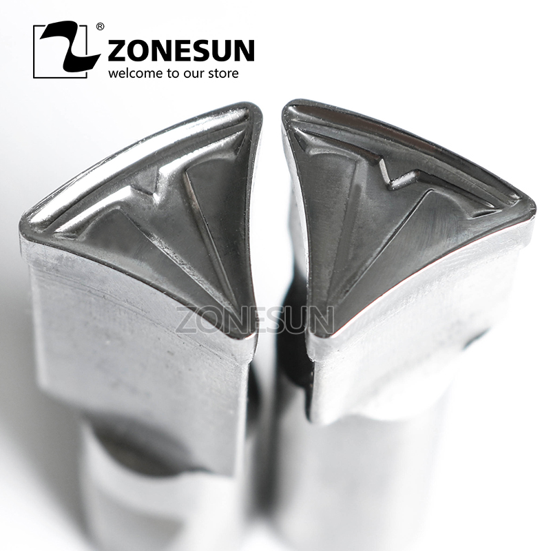 ZONESUN Tablet Customized mould Press Steel Custom Hole Punch Die Set Milk Tablet Die Logo For TDP0/1.5/3/5/6 Machine diy oval lace window embossed mould carbon steel cutting die