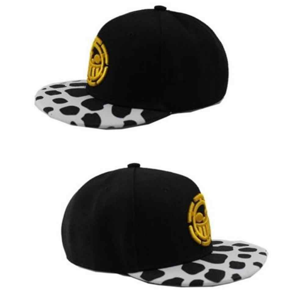 ... Anime One Piece Trafalgar Law Sign Skull Head Baseball Caps Sunhat  Cosplay Hats ... a77ef0e2ca3d