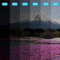 1.52X30m/60x100ft VLT 10% High Insulation Nano Ceramic Auto Car Solar Film 100% UV Window Tint Privacy Glass UV Proof