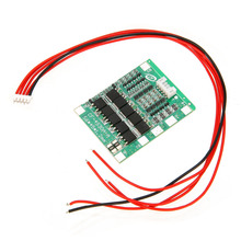 цена на 1pc 4S 14.8V 30A BMS PCB Protection Board For 18650 Li-ion Lithium Battery Cell Module Over Current Protection Board Balance