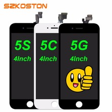 Original LCD Screen For iPhone 5 5g LCD for iPhone 5c 5s LCD Display Touch Screen Replacement parts Digitizer Assembly