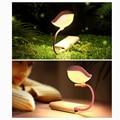 New Fashion Flexible Bird Micro Mini USB LED Night Light For Baby Nursery PC Work Beside Lamp #84627