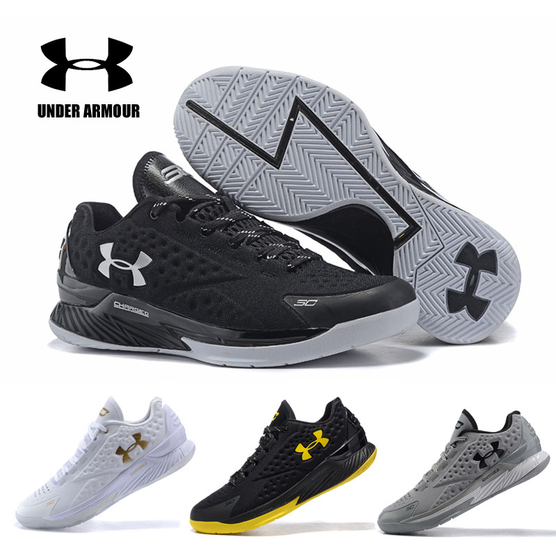 quality design 71454 821d7 Under Armour UA CURRY V1 ONE LOW Basketball shoes zapatillas hombre  Sneakers Men deportiva Male high top Men Light Sports Shoes