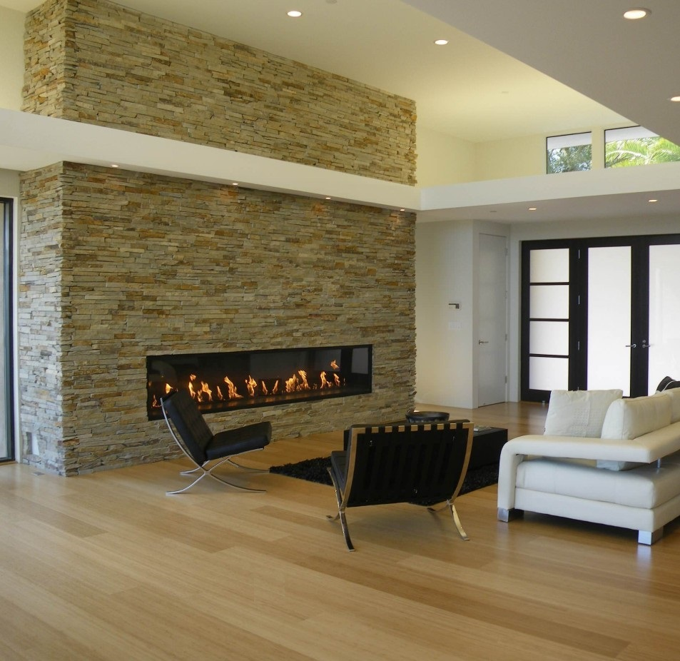 Inno-living 72 Inch Built-in Fireplace Electronic Ethanol Burner With Remote Control