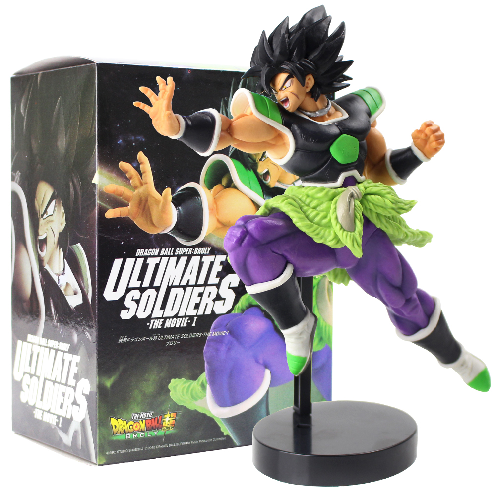 23cm Anime Dragon ball Z Super Broly Ultimate Soldiers The