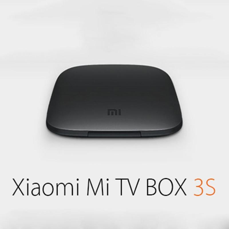 Original Xiaomi Mi 3S TV Box 4K 64bit Android 6.0 Media Player Quad Core Amlogic S905X Dolby DTS Set Top Box Bluetooth 4.1 tvbox