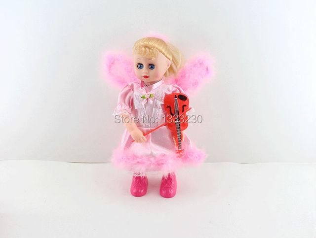 05fd616ee swing baby dolls baby angel violin doll singing song toy-in Dolls ...