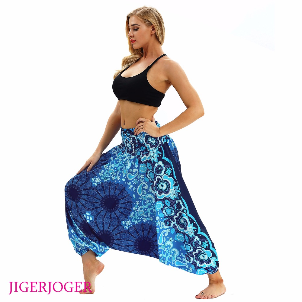 JIGERJOGER Summer Beach Yoga Swim Covers 3D Printed High