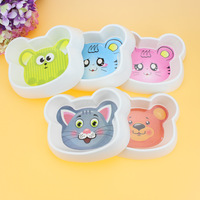 WOFO Melamine Medium Pet Dog Cat Bowls Cartoon Anti Choking Slow Food Feeder Supplies Puppy Dog