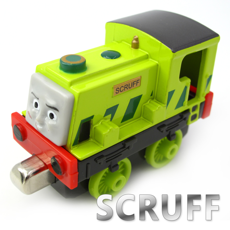 Diecasts Vehicles Thomas T119D SCRUFF Thomas And Friends Magnetic Tomas Truck Car Locomotive Engine Railway Train Toys for Boys