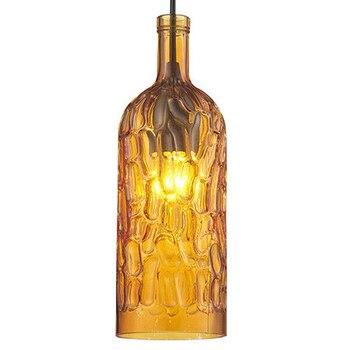 Vintage Glasflaschen | Moderne Candy Glas Wein Flasche Led Anhänger Hängen Lichter Leuchten Cafe Bar Shop Restaurant Kunst Halle Anhänger Lampe Beleuchtung Dekor