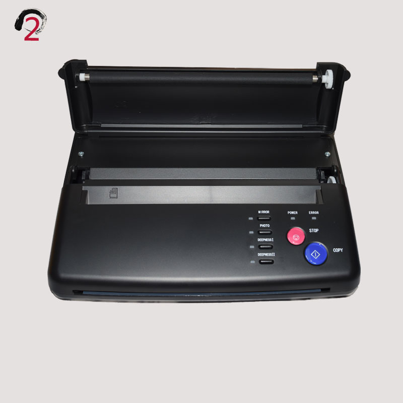 Maquiagem Tattoo copy machine lowest price A4 Transfer Paper black Tattoo copier thermal stencil copy Transfer Machine (3)