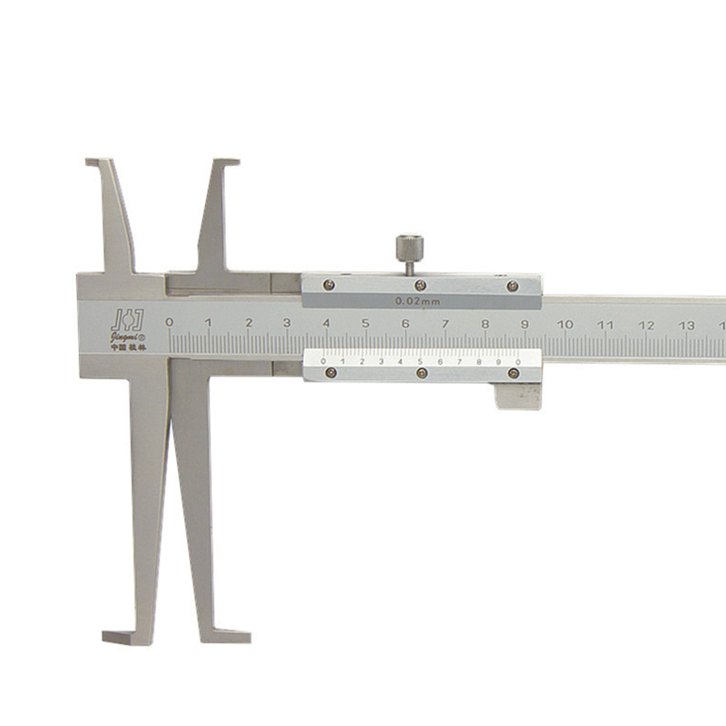 9 200mm 0 02 Long Claw Inside Groove Vernier font b Caliper b font Stainless Steel