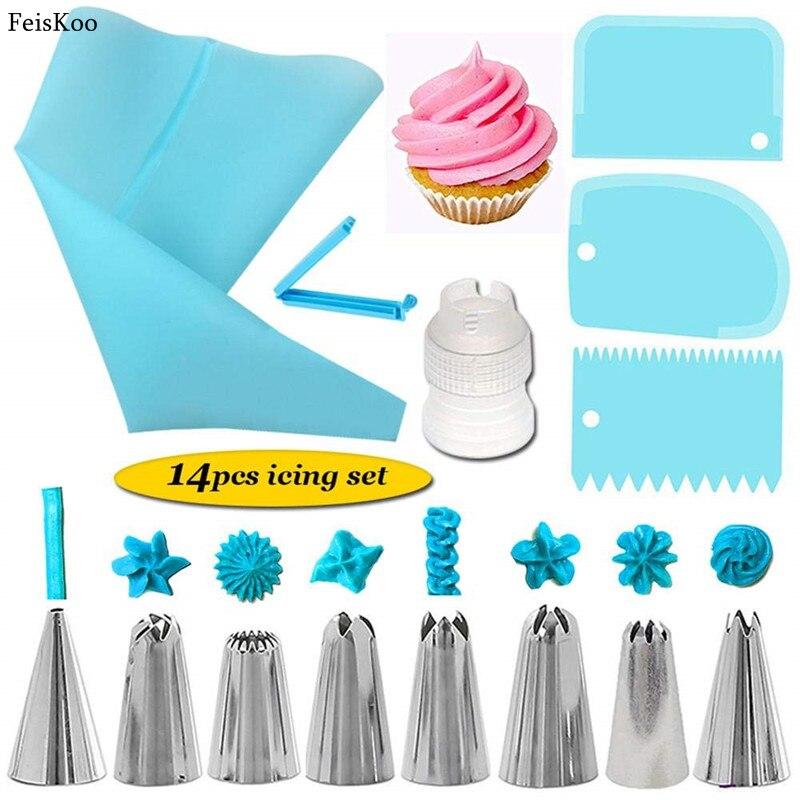 Icing Bag Set Outil Crème-ICING-Seringue tuyauterie BUSE Gâteau Décoration Sac