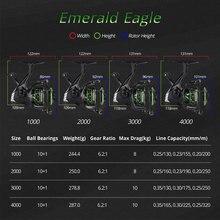 KastKing Eagle Green Super Light Spinning Reel Saltwater Max Drag 10KG
