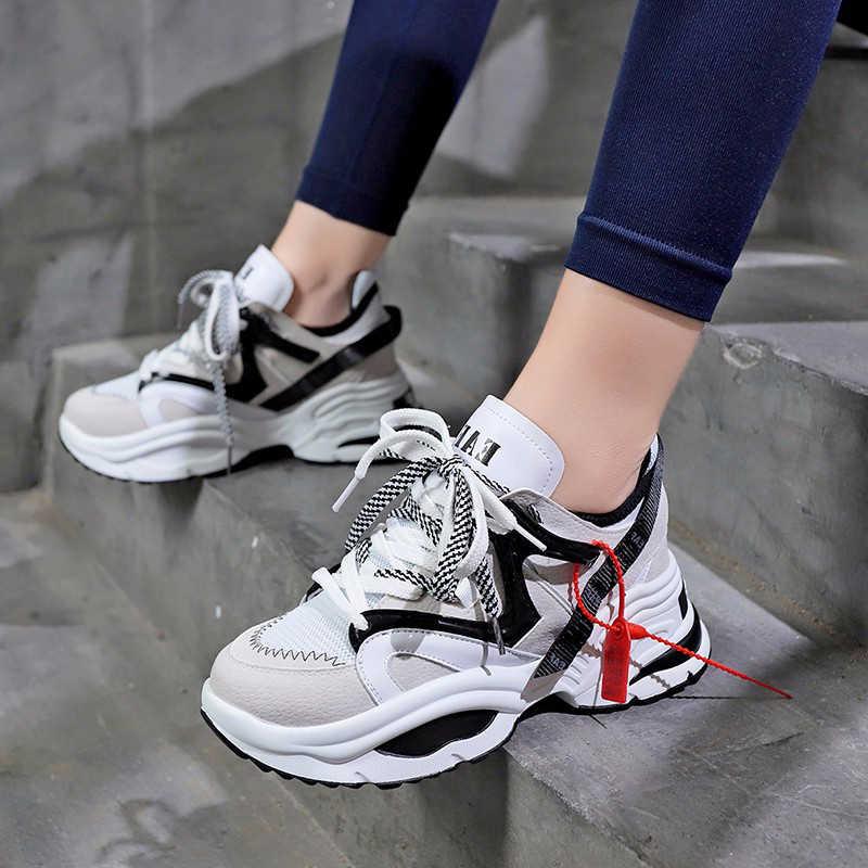 2019 Women Sneakers high platform
