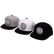 Clásico 5 paneles de algodón SnapBack 3D Dios Ojos plástico Patch mens gorra  de béisbol ala plana hip hop sombrero y gorra para . a754c5d9120