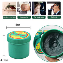 Pomada analgésica verde de ervas da tailândia, pomada para alívio da dor muscular, antimosquito, à coceira, bálsamo de tigre, tonturas
