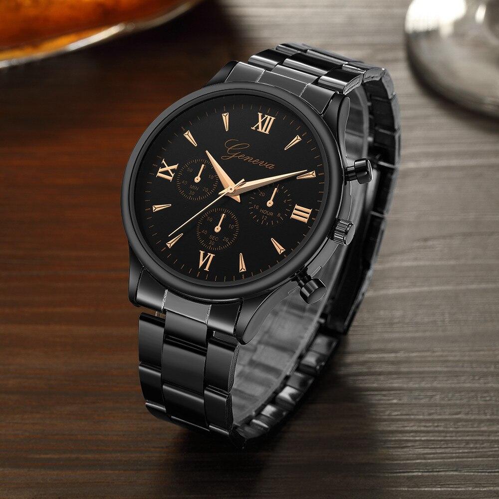 Relogio Masculino Luxury Watch Fashion Stainless Steel Watch For Men's Quartz Analog Wrist Watch Orologio Uomo