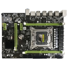 X79M Pro Motherboard For Intel Lga 2011 E5 2640 2650 2660 2680 Ddr3 1333/1600/1866Mhz 32Gb M.2 Pci E M Atx Mainboard