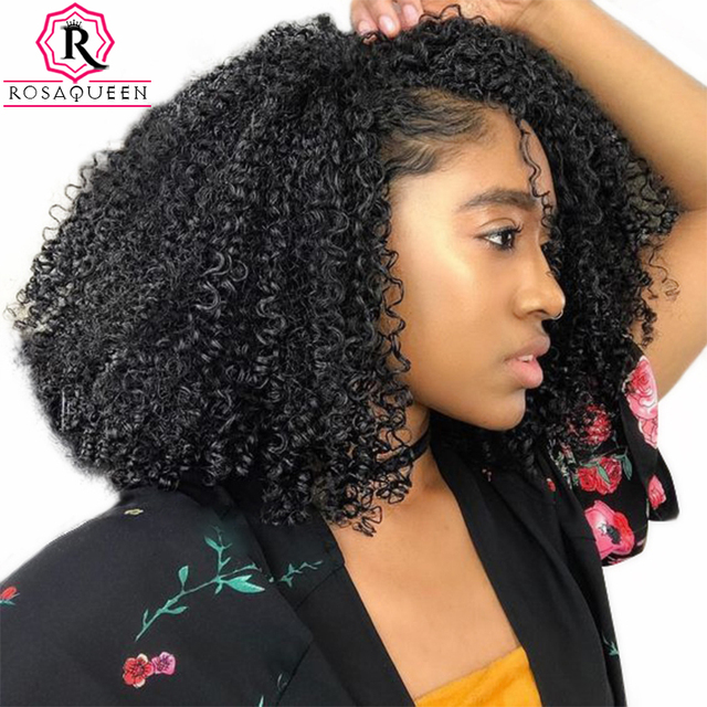 3b 3c curly clip in human hair extensions sets 100