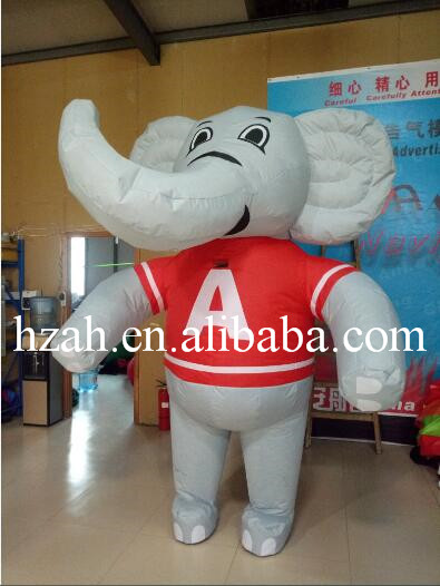 Moving Inflatable Elephant Costume