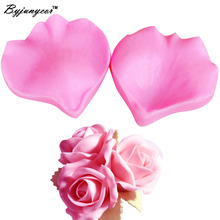 M239 Petal Flower Shaped Silicone Mold Cake Decoration Fondant 3D Food Grade Mould