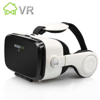 BOBOVR Z4 VR Box mini 3D glasses Virtual Reality goggles Google cardboard headset bobo vr headphone for 4.3-6.0 inch smartphone - DISCOUNT ITEM  30% OFF Consumer Electronics