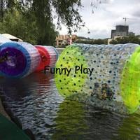 Надувные ролики человека шар Зорб для воды мяч воды роликовый воды Прогулки водный мяч коньки ролик воздуха плотный ПВХ