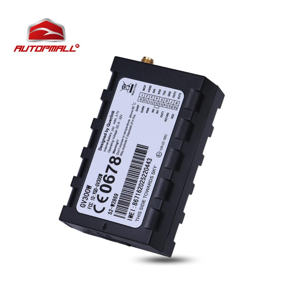 3G <font><b>GPS</b></font> Tracker Queclink GV300W WCDMA Car Vehicle Tracking Device GSM GPRS Locator UMTS HSDPA U-blox Support GARMIN Protocol
